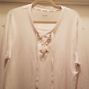 Calvin Klein Twofer Sweatshirt